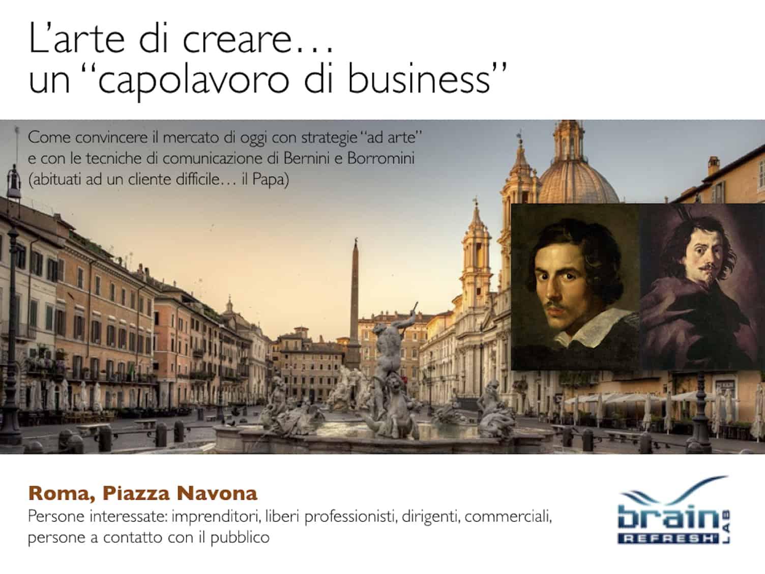 Bernini e Borromini - Novembre