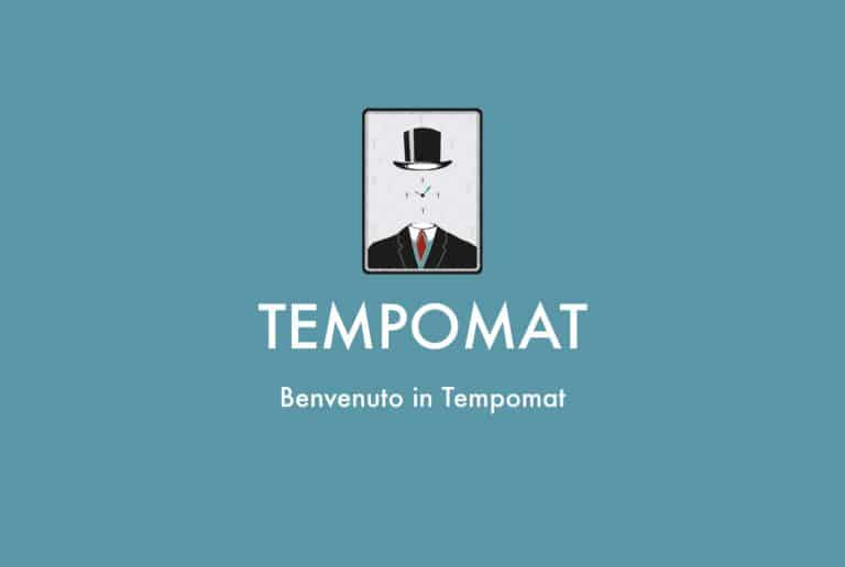Come creare un account in Tempomat