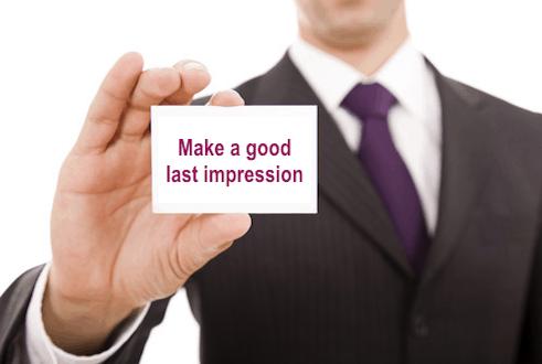 una buona impressione